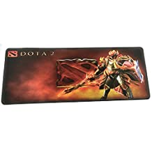 Large Professional Gaming Mouse Pad Extended Anti-Slip 800x300x3mm / 31.5x11.8x0.12 inch - Big Dota 2 Design Mousepad for Desktop/Laptop