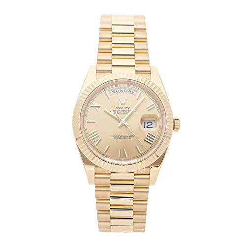 - Rolex Day-Date Mechanical (Automatic) Champagne Dial Mens Watch 228238 (Certified Pre-Owned)