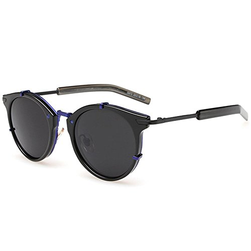 Hikote Fashion Retro Non-Polarized Round Aviator (Spiderman Costumes In India)