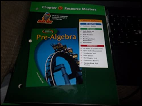 Pre-Algebra, Chapter 10 Resource Masters: Glencoe/McGraw-Hill