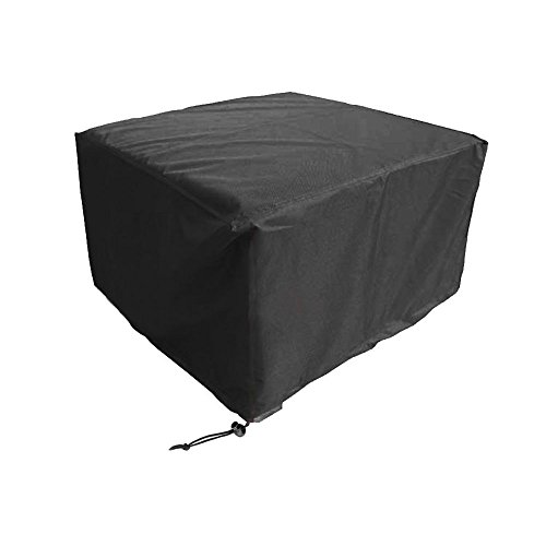 Ricon 48 Inch Rectangular Patio Table and Chair Cover, Outdoor Furniture Cover with Durable and Waterproof Fabric (48Lx48Wx29H'') by RICON