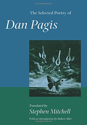 The Selected Poetry of Dan Pagis (Literature of the Middle East)