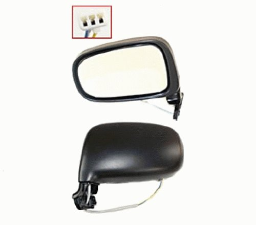 - Discount Starter and Alternator 4048PL Toyota Previa Driver Side Replacement Mirror Power Non-Heated Manual Folding