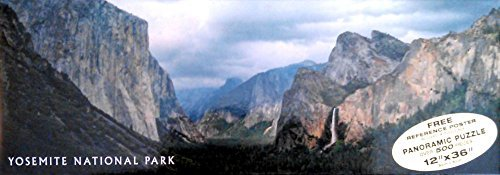 Yosemite National Park 13 By 36 Inch Panoramic 500 Piece Puzzle by Impact