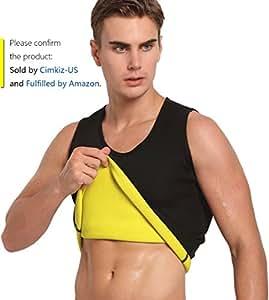Sauna vest for man neoprene sweat vest weight lose vest sweat tank top fat burner vest thermo vest no zip S