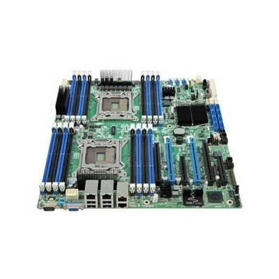 (Intel DBS2600COE - LGA2011 Intel C600 Chipset SSI EEB Server Motherboard DDR3 ECC Video Gigabit LAN)