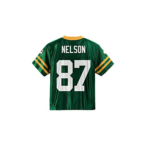Jordy Nelson Green Bay Packers Green Youth Player Home Jersey (Small ()