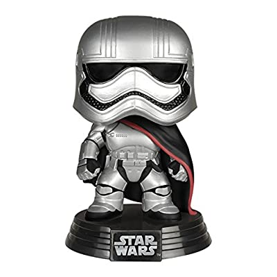 FUNKO Pop! Star Wars Captain Phasma The Force Awakens Vinyl Figure: Funko Pop! Star Wars:: Toys & Games
