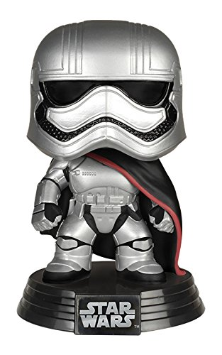 (FUNKO Pop! Star Wars Captain Phasma The Force Awakens Vinyl Figure)