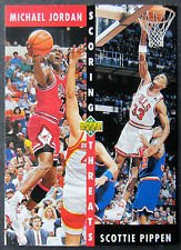 1992/1993 Upper Deck Scoring Threats Michael Jordan/scottie Pippen #62 Chicago Bulls Basketball Card