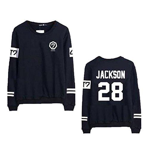 GOT7 Concert Pullover Jackson BamBam JB Mark Album MAD Sweater