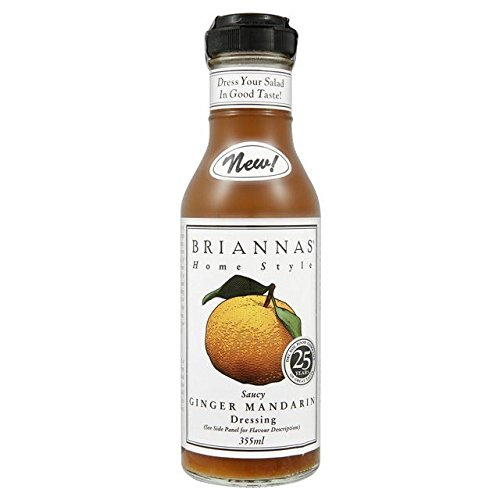 Briannas Ginger Mandarin Dressing - - Salad Mandarin