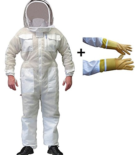 BEEKEEPING FULL SUIT VENTILATED ULTRA COOL WITH HOOD 3 LA...