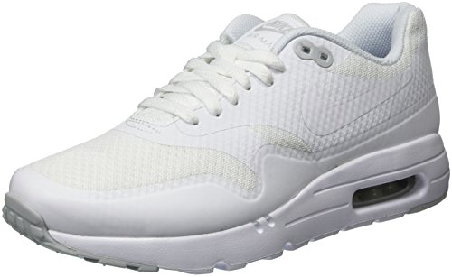 Nike Air Max 1 Ultra Essential, Zapatillas de Running para Hombre Blanco (White / White-Pure Platinum)