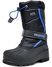 Toddler Kamick Black Royal Mid Calf Waterproof Winter Snow Boots Size 9 M US Toddler