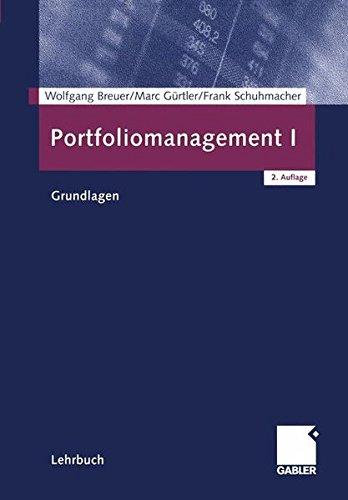 Portfoliomanagement I: Grundlagen