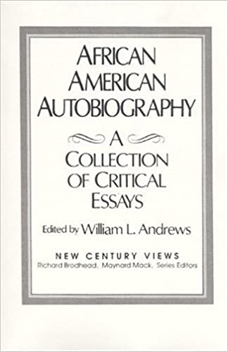 com african american autobiography a collection of  african american autobiography a collection of critical essays 1st edition