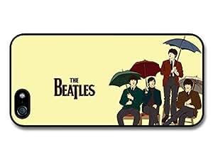 AMAF ? Accessories The Beatles Colour Umbrellas Rockstars case for iPhone 5 5S