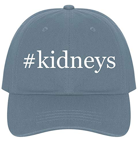 The Town Butler #Kidneys - A Nice Comfortable Adjustable Hashtag Dad Hat Cap, Light Blue
