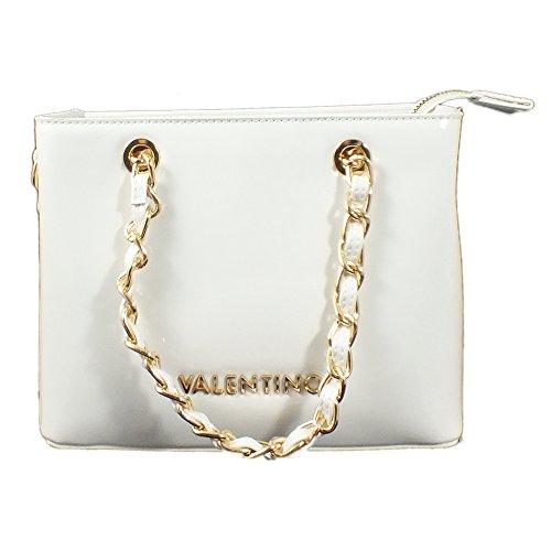 Bianco x Sac Valentino bandoulière 20 femme 16 Blanc 9 x cm pour ZSqanwXq