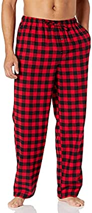 Amazon Essentials mens Flannel Pajama Pant Pajama Bottom