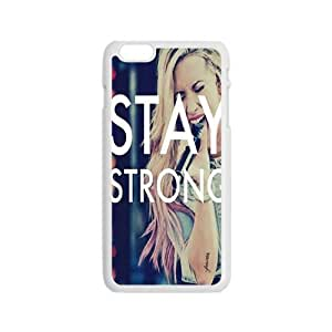 GKCB Stay Strong Fashion Comstom Plastic case cover For Iphone 6