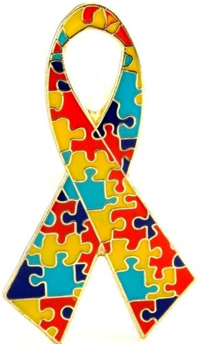 Autism Ribbon Pin Autism Ribbon Pin