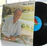REX ALLEN - the touch of god's hand DECCA 75205 (LP vinyl record)