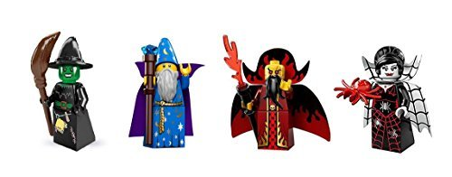 Lego Witch, Wizard, Evil Wizard, Spider Lady Minifigures for $<!--$26.00-->