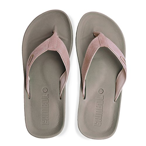 GAMBOL Mens Sandal Shoes - Ezy Style Tan oawpDqS