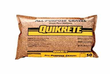 Quikrete B0017L63GG Gravel,50# All-Purpose, Brown by Quikrete (Image #1)