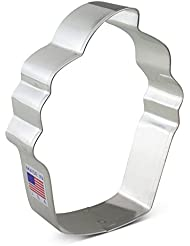 Ann Clark Cupcake Cookie Cutter - 4 Inches - Tin Plated Steel