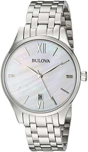 Bulova 96P161 16mm Stainless Steel Silver Watch Bracelet