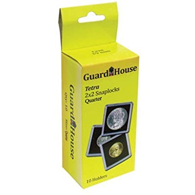 Guardhouse Tetra Snaplocks for Quarters Pack of 10: Toys & Games