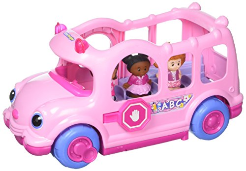Fisher Price Little People Vehicle - Pink Lil' Movers School Bus Little People by Fisher-Price (Styles Vary)