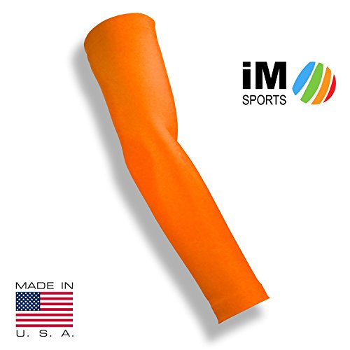 im-sports-the-ace-baseball-pitching-compression-arm-sleeve-reduce-injury-unisex-made-in-usa-neon-ora