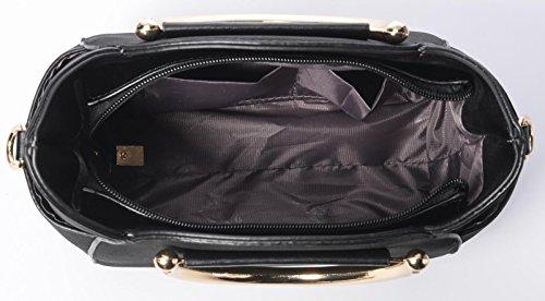 Body Black 4 Cross Shoulder Handle Women's QZUnique Top Cat Bag Cute Summer Fashion P4W8qwpx