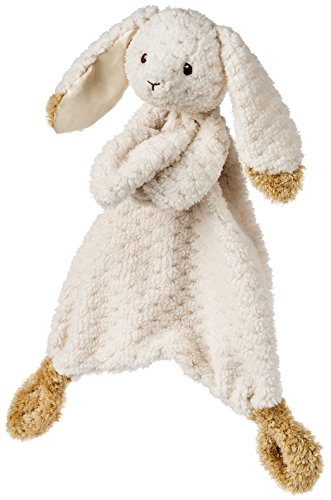 Mary Meyer Oatmeal Bunny Lovey Blanket ()