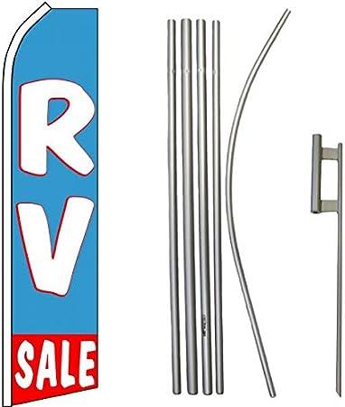 Super Sale Quantity 5 Super Flag /& Pole Kits
