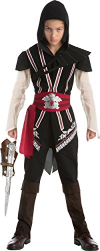 Assassins Creed 2 Costumes (Assassin's Creed II Ezio Auditore Assassin Bundle Boy's X-Large 14-16)