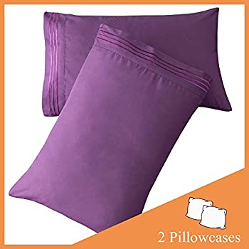 Amazon Com Sonoro Kate Luxury Pillowcase Set Brushed