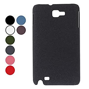 Matt Finish Hard Case for Samsung Galaxy Note 2 N7100 (Assorted Colors) --- COLOR:Green