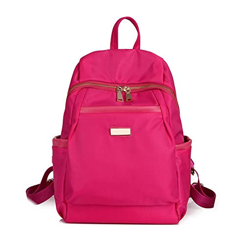 Bagsfor for Girls Teenagers Zaino Scuola Daypack, rosa Red