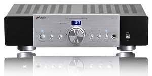 Advance Acoustic MAX 150 - Amplificador (2 x 55 W, puerto USB), color negro y plateado
