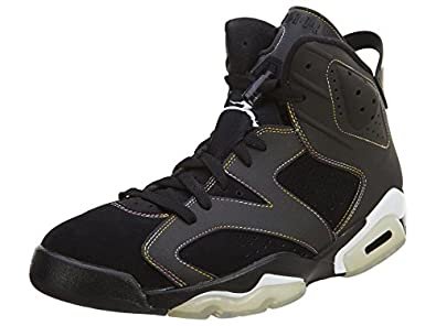 Nike Air Jordan 6 Retro \u0026quot; Lakers \u0026quot; VI Mens Basketball Shoes 384664-002
