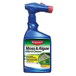 BioAdvanced 704710B Moss and Algae Killer Ready-To-Spray, 32 oz