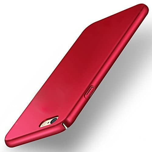 newest 4f4fe 59633 varun communications 4 Cut All Sides Protection Ipaky Sleek Hard Back Cover  for Vivo V5/V5s (Red)