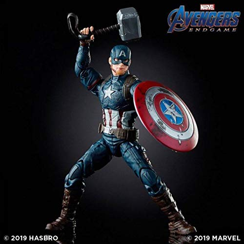 Marvel Legends Captain America Worthy Avengers Endgame Walmart Exclusive