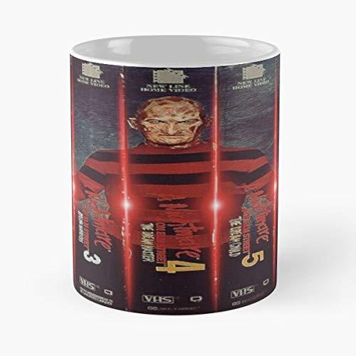 Freddy Krueger Meme (Freddy Krueger Jason Voorhees Michael Myers Halloween 11 oz Mug Best gifts for Halloween)