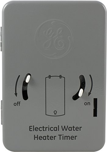 GE 24-Hour Indoor Heavy Duty Mechanical Water Heater Timer S